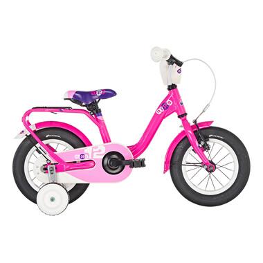 "Vélo Enfant S'COOL NIXE Alu 12"" Fuchsia"